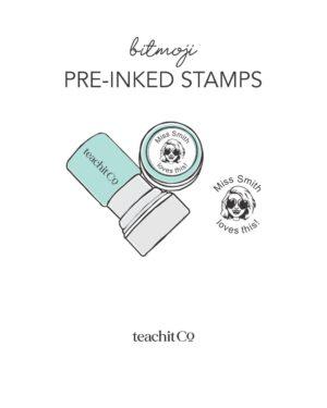 Bitmoji Stamps