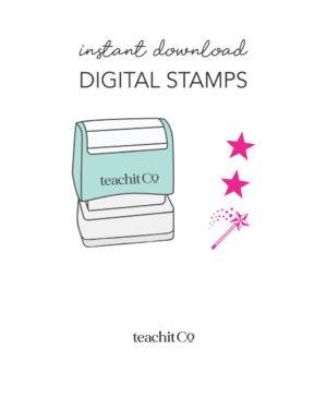 Instant Download Digital Stamps