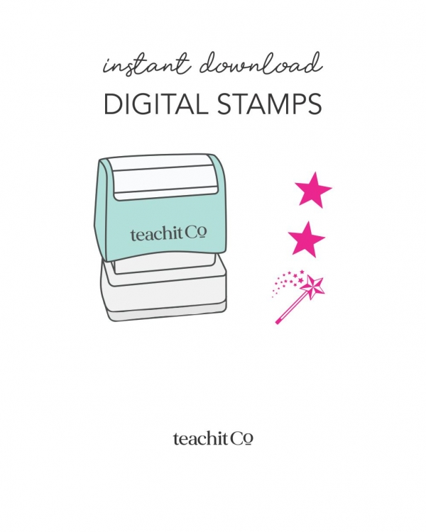 Instant Download Digital Stamps