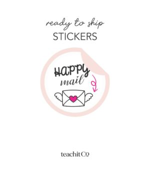 Ready To Ship Stickers