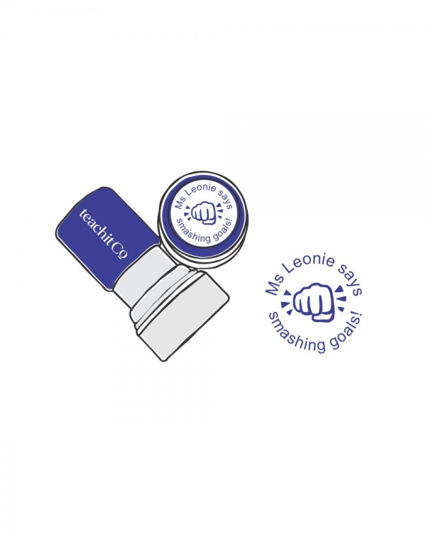 Digital Stamp fist bump