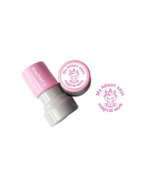 Unicorn Teacher stamp