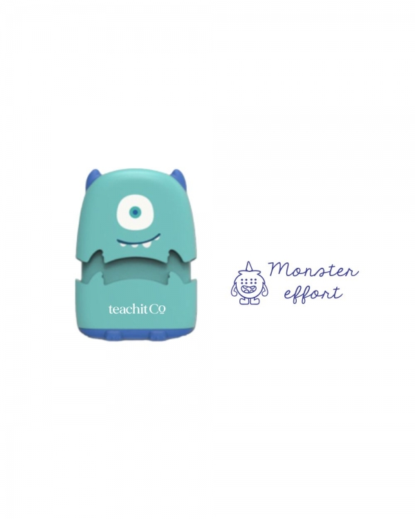 Mini monster stamp