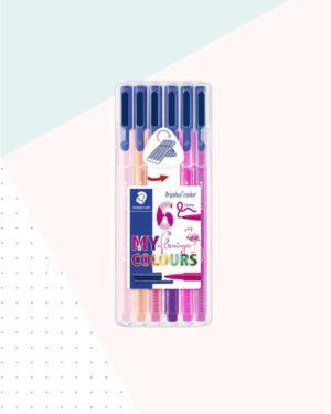 Pink pens